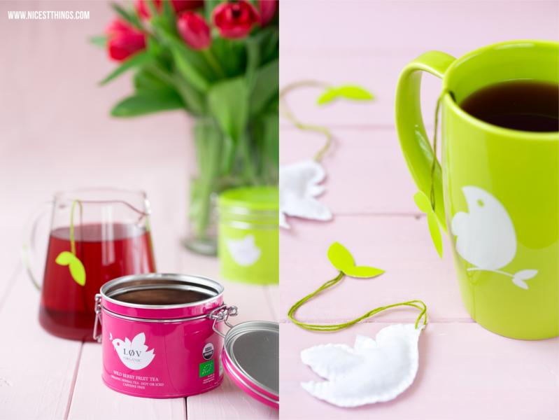 Teebecher und Teedosen von Lov Organic