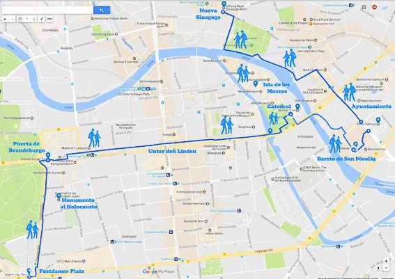 Recorrido por Berlin. Dia 1. Berlin en 4 dias