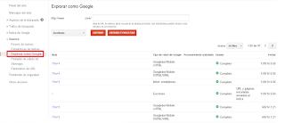Uso de la  herramienta Explorar como Google