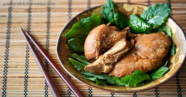 Slow Cooker Soy And Citrus Chicken Recipe