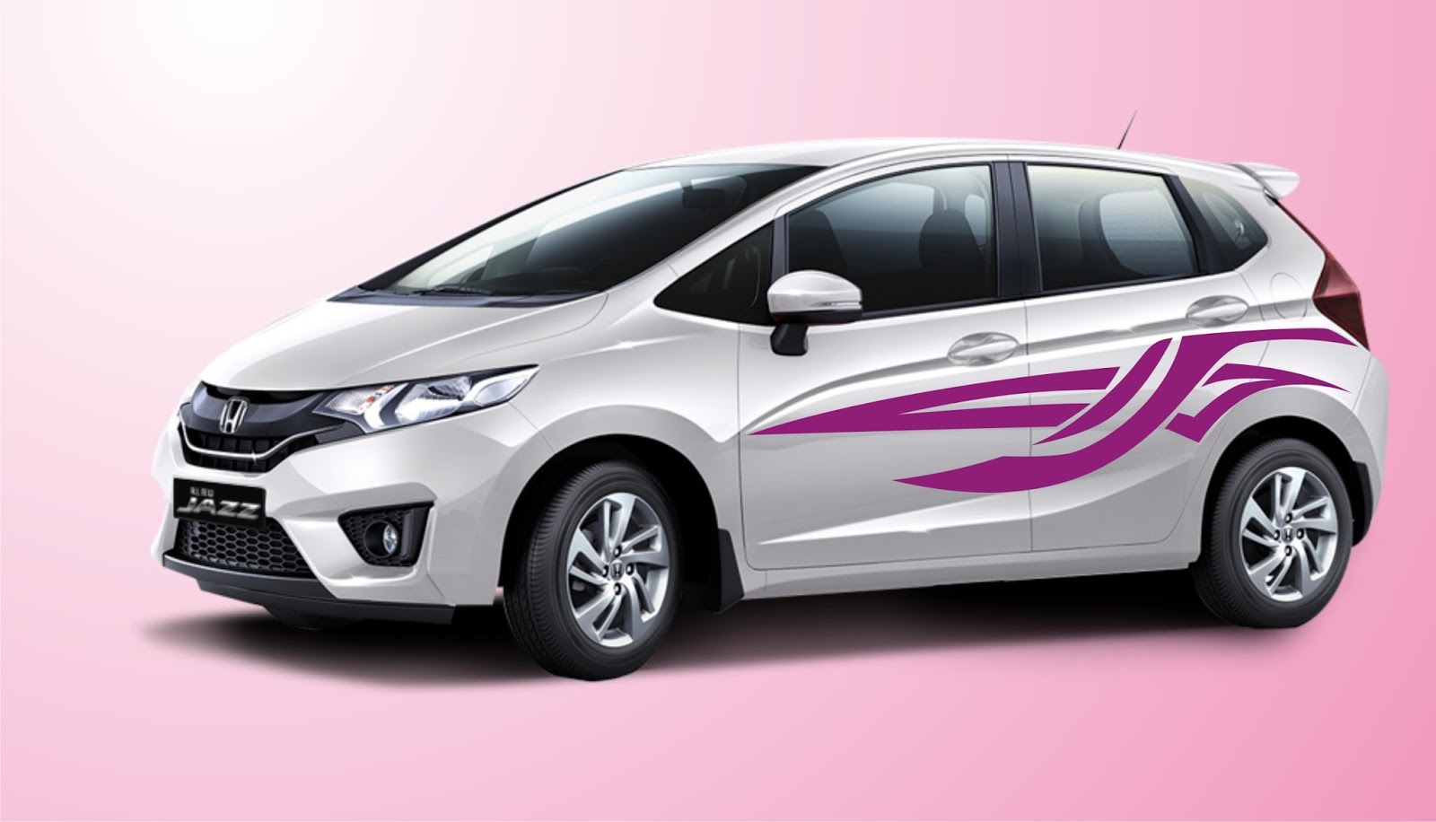 Honda car sticker design - Creatifdesign Warm Greetings To Fans Of Car Design With Purple Themed Sticker Which Is Where This Design Fits Perfectly With The Design Of Today