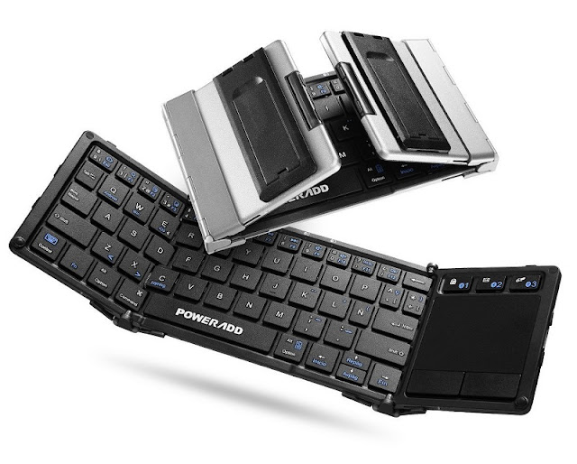 Teclado Bluetooth transportable