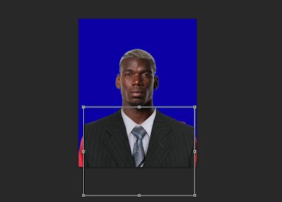 Cara Mengganti Baju Pas Foto Dengan Jas di Photoshop 22