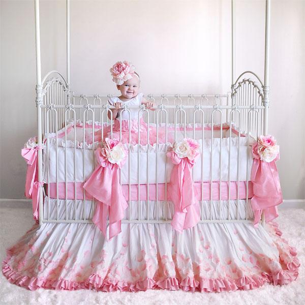 Cuna con glamour para mujercita by - Cunitas para bebe ...
