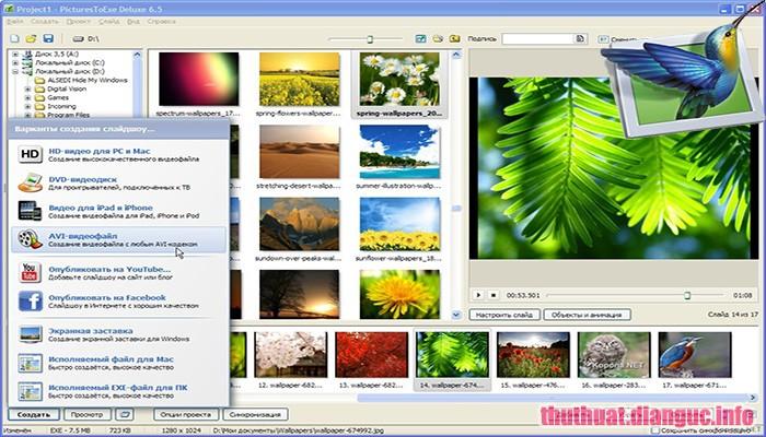 Download PicturesToExe Deluxe 9.0.20 Full Cr@ck – Trình chiếu ảnh, làm video đơn giản