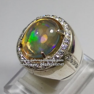 Batu Permata Opal Kalimaya Jarong - ZP 1085