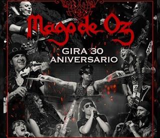 Desde España: MAGO DE OZ regresa a Colombia, Bogotá en 2018 para celebrar sus 30 AÑOS