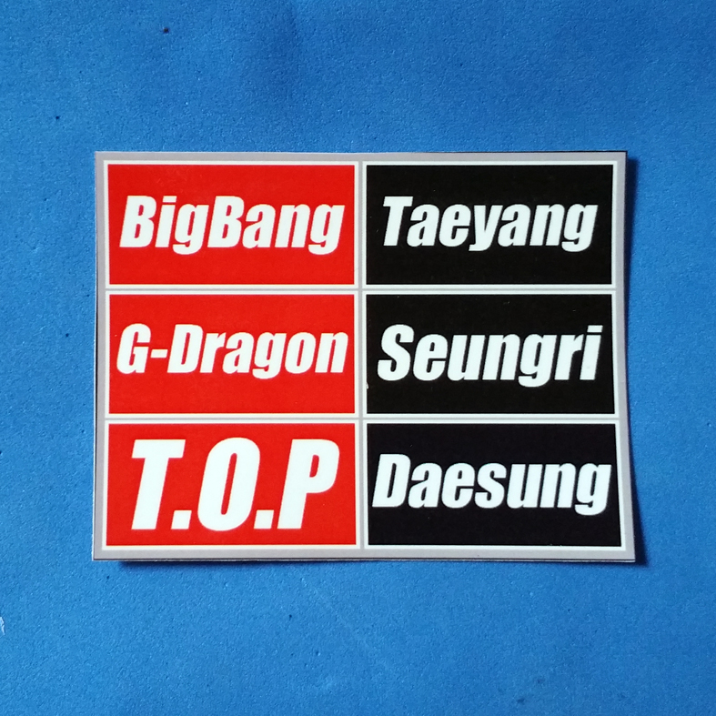 STICKER ANGGOTA KPOP CUSTOM