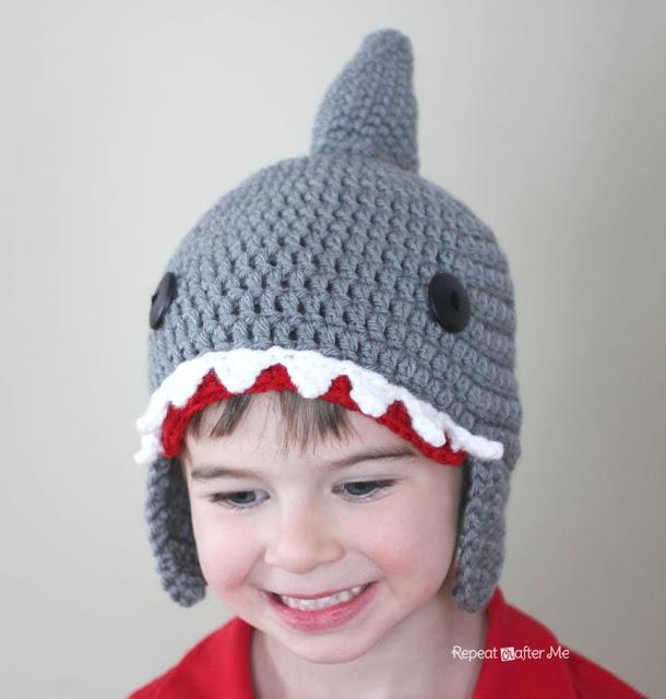 Fiber Flux Sharks 4 Fun And Free Crochet Patterns