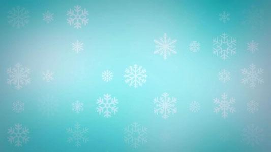 تنزيل فيديو تساقط الجليد موشن للمونتاج , Snowflakes Video Background Loop HD