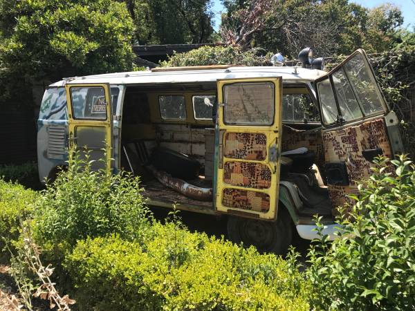 1962 Volkswagen Camper Bus Project