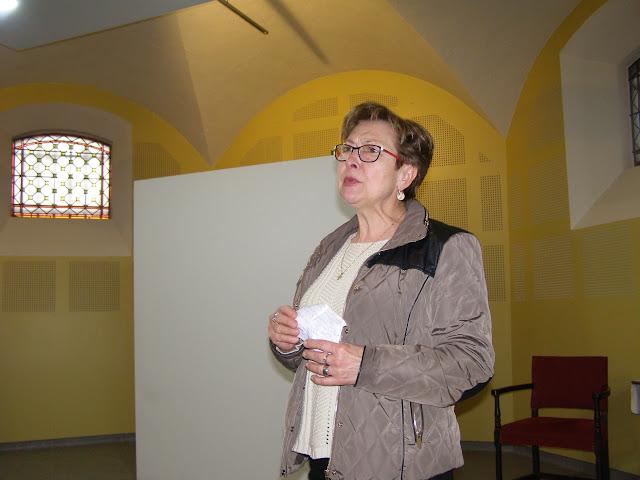 Elisabeth Devoucoux, responsable du Secours Catholique à Boën