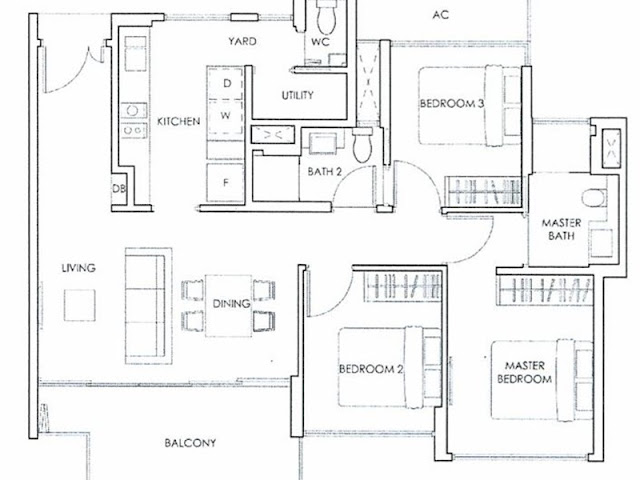 Forestwood Residences Floor Plan 2