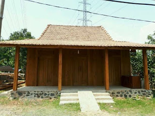 rumah limasan jati antik
