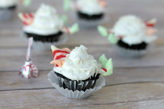 Snowball Elf Cupcakes