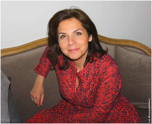 Fondatrice de L'Atelier Maquillage - Laurence Alphandary - Blog beauté Les Mousquetettes©