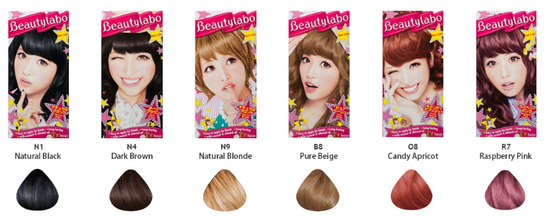 Color Beautylabo Hair Color Raspberry Pink