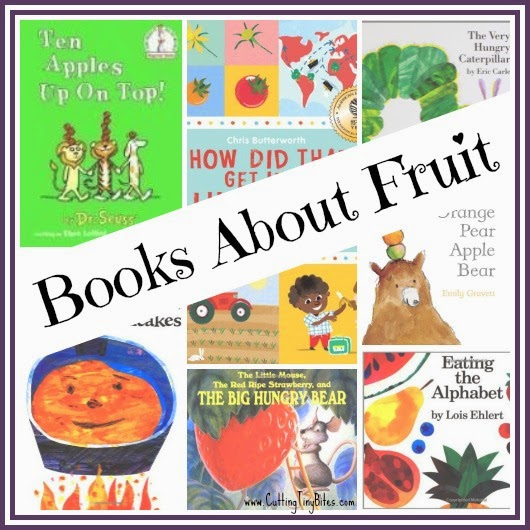 Books About Fruit Collage