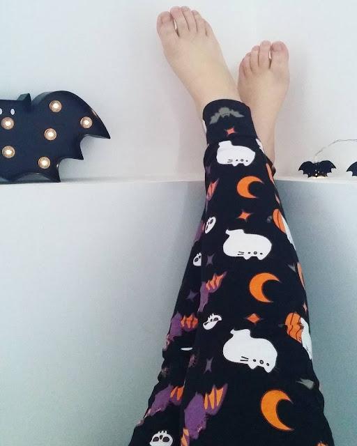 legging pusheen halloween h&m