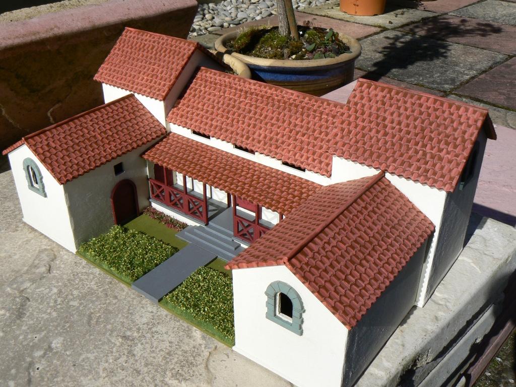 Jim Duncan Wargamer Roman Villa In My Back Garden