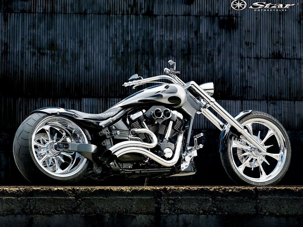 Motorcycle Custom: Wallpaper: Custom Wallpaper
