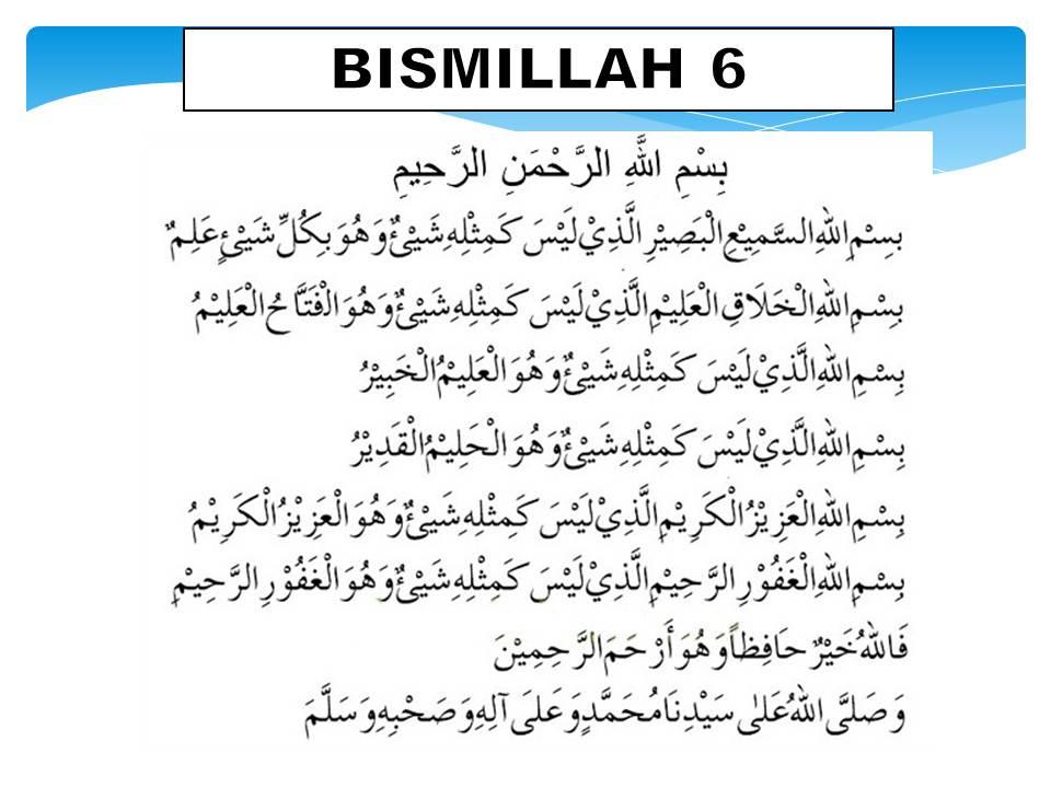 Bismillah 6 Pdf
