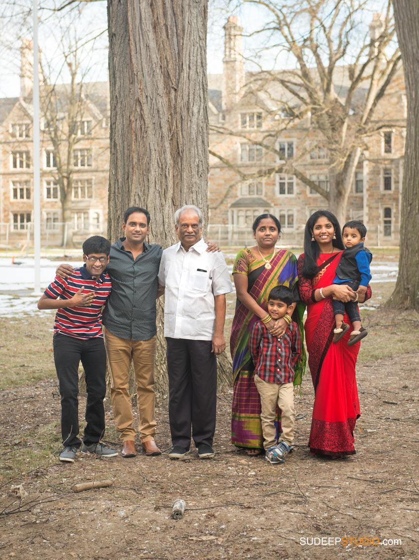 Family Portraits with Parents from India SudeepStudio.com Ann Arbor Family Portrait Photographer