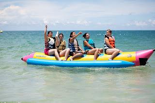 Bali Banana Boat Riding Kss Bali Tour