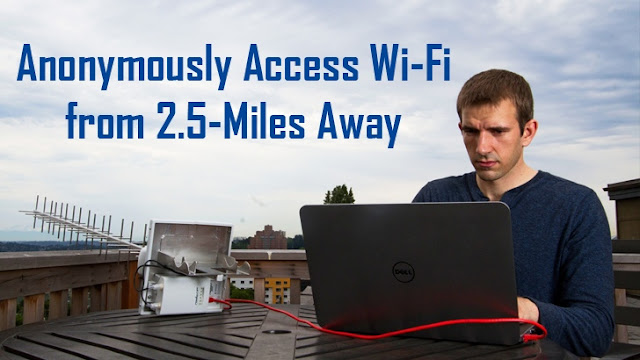 Anonymously Access Wi-Fi from 2.5 Miles Away Using This Device