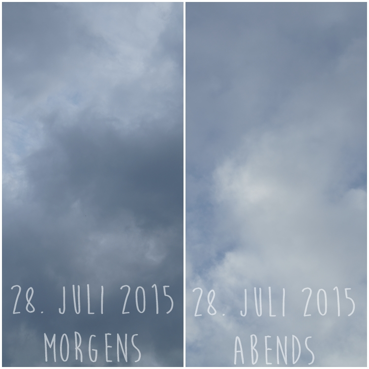 Blog & Fotografie by it's me! - Himmel am 28.07.2015