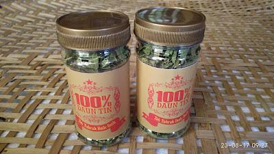 100% daun tin teh tubruk baikbaik