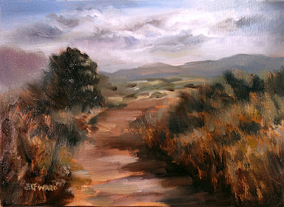 Plein Air Oil Painting by Jeff Ward