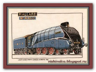 "Heritage Crafts Серия: Trains CMA125 ""Mallard"""