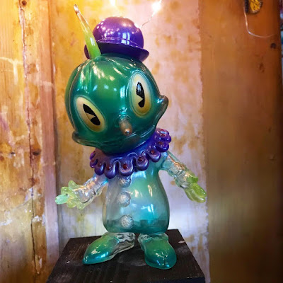 Designer Con 2017 Exclusive Ghost of Stingy Jack Vinyl Figure by Brandt Peters