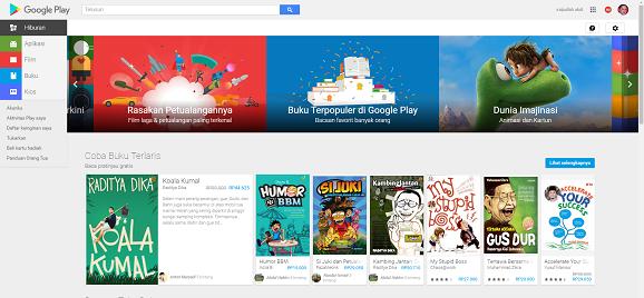 Lima Pengganti Google Play Store pada Piranti Smartphone Android Yang Anda Punya