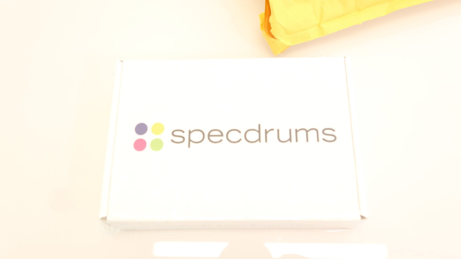 My Camera View: Unboxing Specdrums