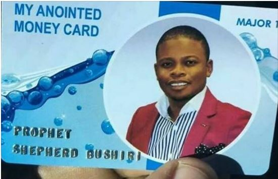Pastor unveils Customized ATM Card for Tithes and Offerings (PHOTOS)