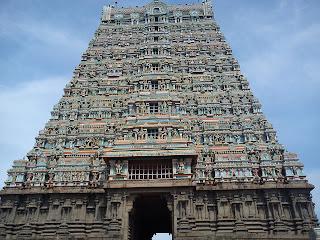 Kailasanatha temple, tenkasi, gopuram