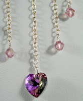 Delicate Love (Swarovski crystals, Sterling silver) :: All Pretty Things
