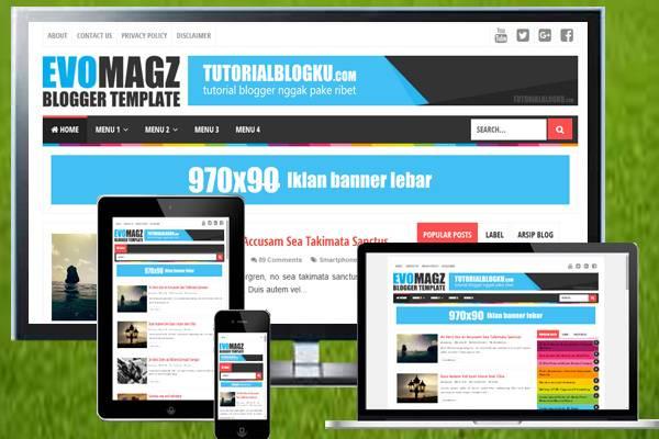 free template evo magz v25