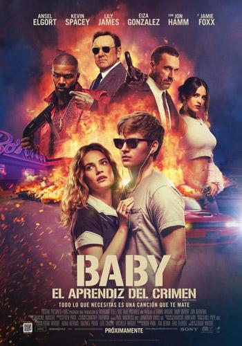 Baby Driver 2017 Dual Audio ORG Hindi 720p BluRay 1GB 5.1Ch ESubs movie poster