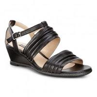 Sandale business dama ECCO Rivas 45 II (Negre)