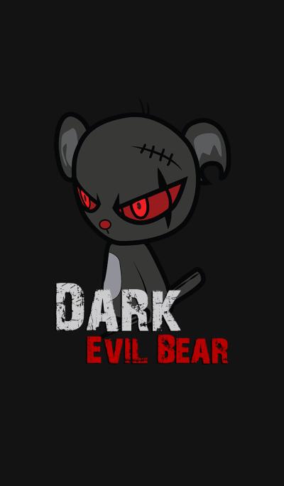 Dark Evil Bear