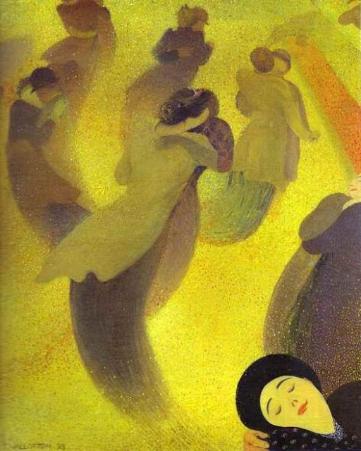 Felix Vallotton - La Valse - 1893