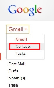 gmail contacts manager