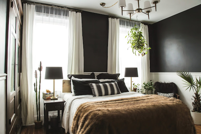 Moody Master Bedroom