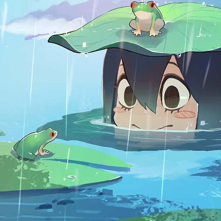 1 tsu chan boku no hero; Tsu-Chan (Boku no Hero Academia) Wallpaper Engine ...