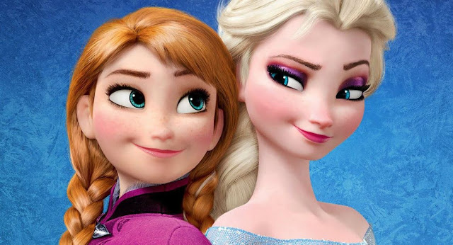 Gambar Frozen 2 Anna dan Elsa Putri Kerajaan Arendelle