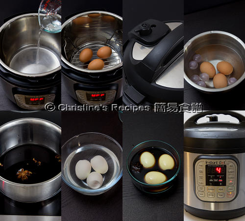 糖心滷水雞蛋製作圖 Spicy Soft Boiled Eggs Procedures