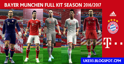 BAYER MUNCHEN FULL KIT SEASON 2016/2017 by uke313